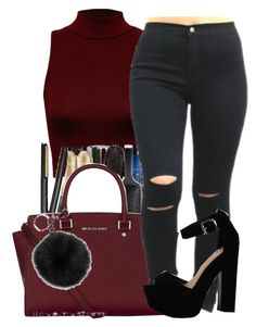 """""""Girls should be like butterflies pretty to see hard to catch"""" by maiyaxbabyyy ❤ liked on Polyvore featuring WearAll, MICHAEL Michael Kors and Michael Kors"""