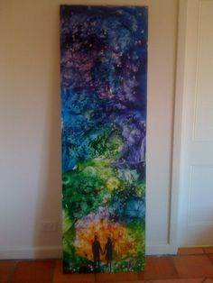 Drips, dollops, smudges, and blots all turn this canvas into a colorful wonderland.