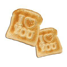 Toast Stamper - I Love You