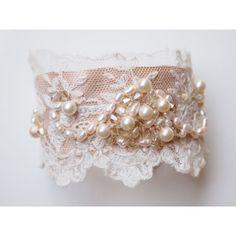 vintage+lace+cuffs | Vintage Bridal Jewellery | Lace Cuff Bracelet