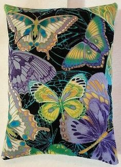 Butterfly Christmas Gift / Butterfly Fabric Lavender Bag / Stocking Filler