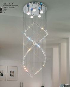 Helix chandelier #modernlighting #chandeliers