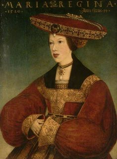 Mary of Hungary (1505-1558) Daughter of Philip I of Castile and Joanna of Castile. Wife to Louis II of Hungary