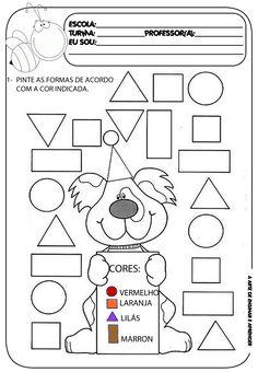 Atividade pronta - Formas geométricas                                                                                                                                                      Mais