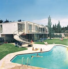 1959 South Africa Swimming Pool