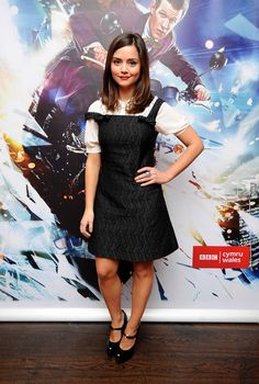 Photo of Jenna-Louise Coleman for fans of Clara Oswald 34424973 Jenna Coleman Style, Doctor Who Cast, Gamine Style, Soft Gamine, Clara Oswald, British Actresses, Pretty People, Celebrity Style, Cute Outfits