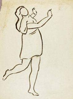 Dancer Carl Newman Born: Philadelphia, Pennsylvania 1858 Died: Abington, Pennsylvania 1932 drawing Smithsonian American Art Museum 1967.63.258