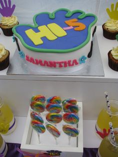 A Hi 5 Themed Birthday Party Is Very Popular With Toddlers And Preschoolers This