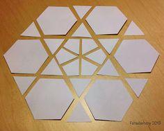 English Paper Piecing Hexagon Templates