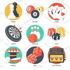 Логотипы бильярдных казино ресторанов баров играют старшие 5 карт