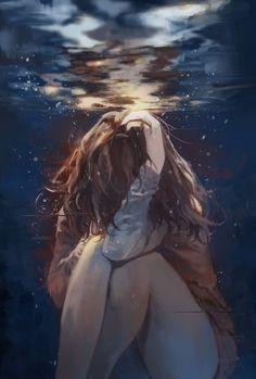 """Preferisco annegare nel mare del mio dolore che lasciarmi schiacciare dall'odio del mondo. """"Questa'atomo opaco del male""""                                          ~Pascoli"""