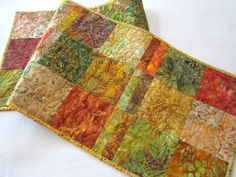 Autumn Colors Table Runner
