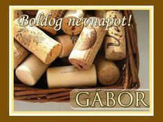 Boldog névnapot, Gábor! Name Day, Names, Birthday, Quotes, Food, Quotations, Birthdays, Saint Name Day, Essen