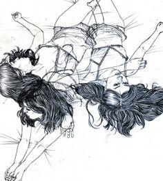 drawings by christine wu beautiful
