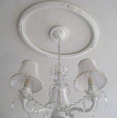 ceiling medallion from old frame <3