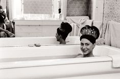Princess Margaret ph. by Lord Snowdon | Who doesn't want to wear a tiara encrusted with diamonds