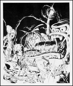 Wally Wood. Marvel comic book artist and illustrator.