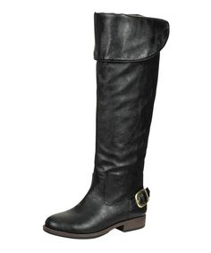 Take a look at this Black Montage Boot on zulily today!