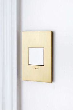 "Why I ""adore"" my new adorne light switches and outlets Dream Home Design, Warm Grey, Black And Navy, Jewel Tones, Nest, Electric, Metallic, Brass, Lighting"
