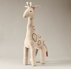 Chambray Giraffe | Plush Gifts | Restoration Hardware Baby & Child