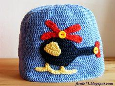 Už dlouho jsem nedala žádný návod na něco pro kluky, tak se tímto polepšuji :o) dnes to bude jednoduchá háčkovaná čepička s helikoptérou... Crochet Beanie, Knit Crochet, Crochet Hats, Baby Hats, Cuddling, Lana, Diy And Crafts, Ford, Knitting