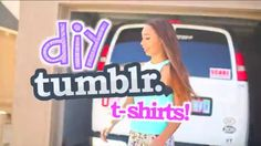 Mylifeaseva!! Go check out her video on diy tumblr t-shirts! If u really want new t-shirts she will show u how!