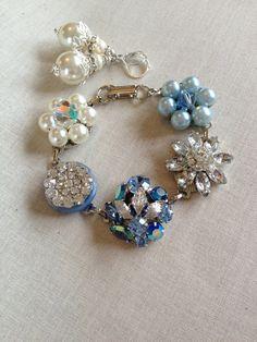 Vintage Earring Bracelet earring bracelet by ChicMaddiesBoutique