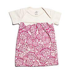 Oh Joy for Winter Water Factory Short Sleeve Baby Dress - Fuchsia | Winter Water Factory