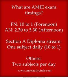 http://www.amiestudycircle.com/faq-on-amie-exams.html