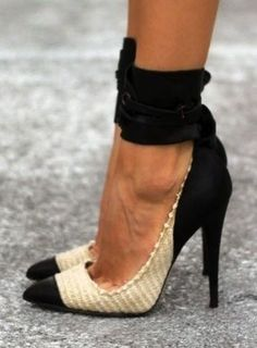 100 Gorgeous Shoes From Pinterest For S/S 2014  via Sandra Angelozzi