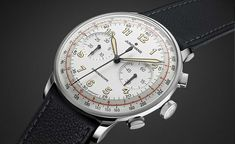 Junghans Meister Telemeter Price: 1990 Euro including 19 % VAT in Germany. Very cool replica design from Junghans. The chronograph brings back the good. Amazing Watches, Cool Watches, Watches For Men, Wrist Watches, Timex Watches, Men's Watches, Fashion Watches, Rolex, Watch Brands