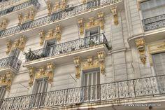 Somewhere on Didouche Mourad street - Algiers, Alger.  Photo:  Exposure
