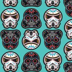 Sugar Wars fabric by shannonworkman on Spoonflower - custom fabric