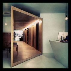 Could our very first entry have this sort of floating corridor that leads up to the stairs
