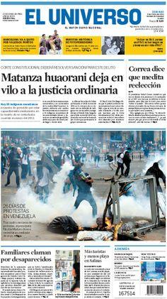 Portada de #DiarioELUNIVERSO del domingo 9 de marzo del 2014. Las #noticias de #Ecuador y el mundo en: www.eluniverso.com
