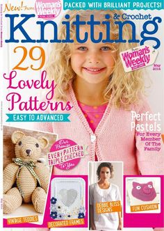Woman's Weekly Knitting and Crochet May 2014