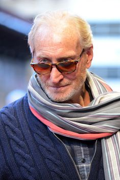Charles Dance - I really like his face and he looks better as he gets older