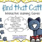 Your students will have a blast practicing basic skills while playing this game.  Simply hide the cat or his shoes behind one of the skill cards! T...