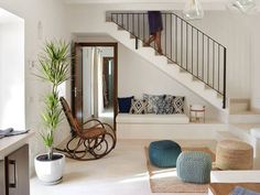 70 the best stairs ideas to interior design your home 1 Design Your Home, Home Interior Design, Interior Decorating, House Design, New Staircase, Staircase Design, Staircase Ideas, Staircases, Home Deco