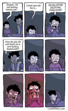 Developer Bedtime Paradox