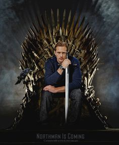 """….the one thing Game of Thrones hasn't got. Eric """"Longsword"""" Northman - and thank goodness since they kill off the characters we like."""