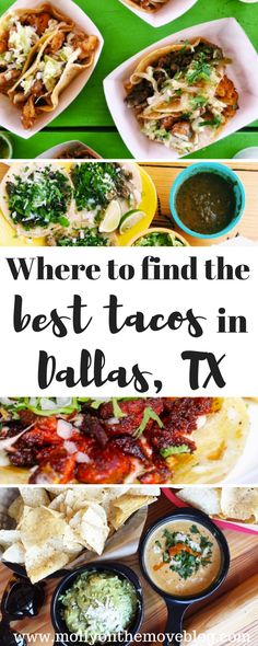 tex-mex in dallas | texas mexican food | where to find best tacos in dallas | top taco shops in dallas