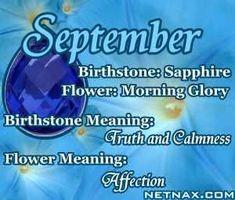 September Birth Associations