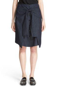 RAG & BONE 'Nadine' Denim Skirt. #ragbone #cloth #