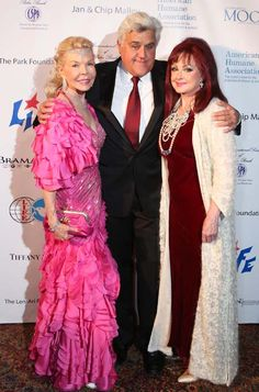 Lois Pope, Jay Leno and Naomi Judd, A Star-Studded evening celebrated