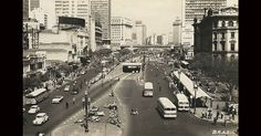 60. São Paulo (SP) - Vale do Anhangabaú, década 1960