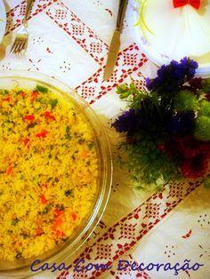 Casa Com Decoração- Blog de Decoração: Receita Salada de Cuscuz Marroquino do Johnny