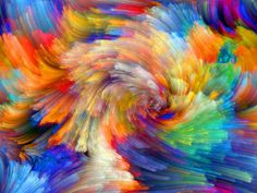 Rainbow pattern, colorful lines, abstract pictures wallpaper 2560x1920