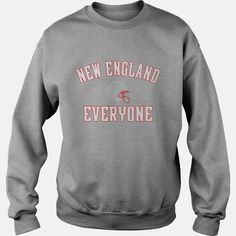 #Rugby Team new england vs everyone T-Shirt Tshirt, Order HERE ==> https://www.sunfrogshirts.com/Sports-Grey-Sweat-Shirt-Rugby-Team-new-england-vs-everyone-T-Shirt-Tshirt-405153993.html?58114, Please tag & share with your friends who would love it, english #rugby player, rugby player women, rugby player australian #christmasgifts #xmasgifts #crafts #health #fitness #christmasgifts #xmasgifts