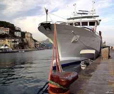 Tonnara nel porto di Cetara